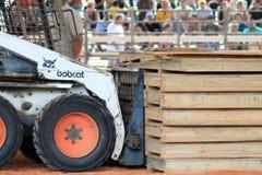 Tractor del lince Imágenes de archivo libres de regalías