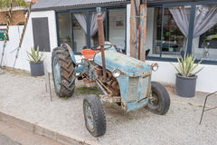 Tractor display at the Muishuis Royalty Free Stock Photo