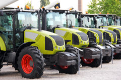 Tractor display Royalty Free Stock Images