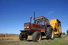Tractor en Aanhangwagen Royalty-vrije Stock Foto