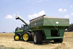 Tractor en Wagen royalty-vrije stock foto
