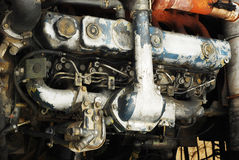 Tractor engine Stock Images