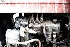 Tractor engine Stock Photos