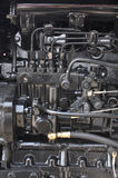 Tractor engine interior Royalty Free Stock Images