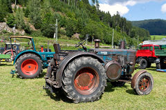 Tractor exhibition Stock Photography
