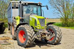 Tractor at farm Royalty Free Stock Photography