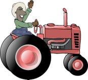 Tractor Farmer Stock Photography