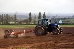 Tractor Farming stock photography