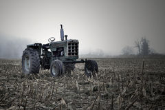 Tractor in field Royalty Free Stock Images