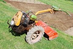Tractor on field Royalty Free Stock Photos