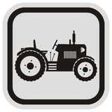 Tractor, frame Stock Images