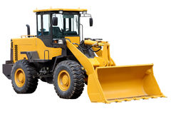 Tractor front loader. Royalty Free Stock Photography