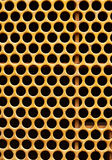 Tractor grill. Pattern of a tractor's grill Royalty Free Stock Photo