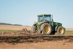 Tractor-harrow Royalty Free Stock Image