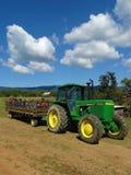 Tractor Hay Ride Stock Photos