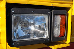 Tractor headlight, huge machine with light equipment also used for tractors, excavators, loaders and other machines Stock Images