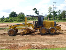 Tractor heavy construction equipment Royalty Free Stock Image