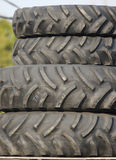 Tractor or Heavy Construction Tires. Tractor or Heavy Construction Machinery Tires Stock Photography