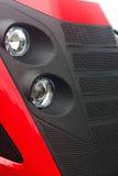 Tractor hoofdlichten Stock Foto's