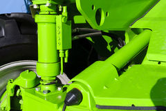 Tractor hydraulic suspension Royalty Free Stock Image