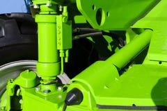 Tractor hydraulische opschorting royalty-vrije stock afbeelding