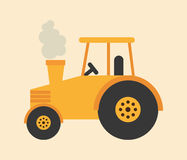 Tractor icon. Design, vector illustration eps10 graphic Royalty Free Stock Images
