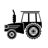 Tractor Icon Royalty Free Stock Photo