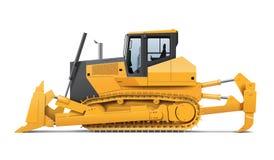 Tractor illustration stock image