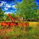 Tractor Implement royalty free stock photos