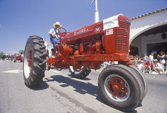 Tractor at Independence Day Parade Royalty Free Stock Image