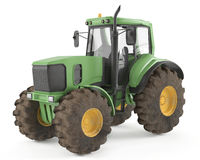 Tractor isolated Royalty Free Stock Photos