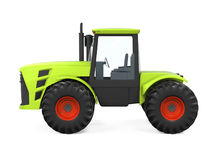 Tractor Isolated. On white background. 3D render Stock Image