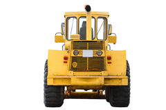 Tractor isolated on white background Stock Photography