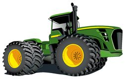 Tractor John Deere Stock Photo