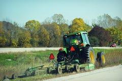 Tractor Lawnmower Stock Photos