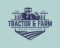Free Tractor Logo Template, Farm Logo Vector Royalty Free Stock Images - 108995499