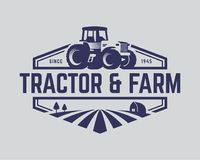 Free Tractor Logo Template, Farm Logo Vector Stock Photography - 108995502
