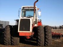 tractor met 4 wielen 2 van de Aandrijving Stock Foto's