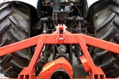Tractor met ploeg Royalty-vrije Stock Fotografie