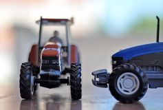 Tractor model Royalty Free Stock Image