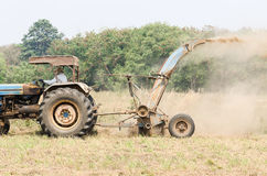 Tractor mower Stock Photo