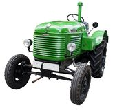 Tractor, Old, Oldtimer, Tractors Royalty Free Stock Images