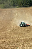 Tractor On The Field Royalty Free Stock Images