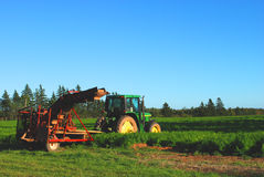 Tractor onbeweeglijk royalty-vrije stock afbeeldingen