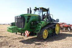 Tractor op de riemen Royalty-vrije Stock Afbeeldingen