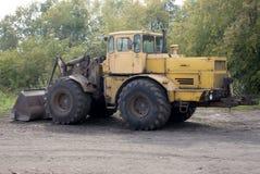 Tractor op wielen royalty-vrije stock afbeelding