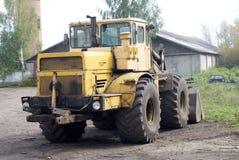 Tractor op wielen royalty-vrije stock foto