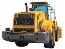 Tractor op wielen Stock Fotografie