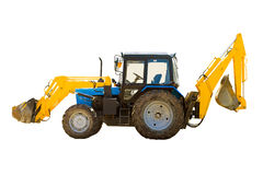 Tractor op wielen Royalty-vrije Stock Afbeeldingen