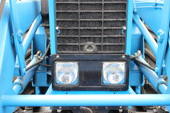 Tractor parts, devices Stock Photo